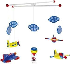 ulysse 1126 mobile flugzeug und heissluftballon. Black Bedroom Furniture Sets. Home Design Ideas