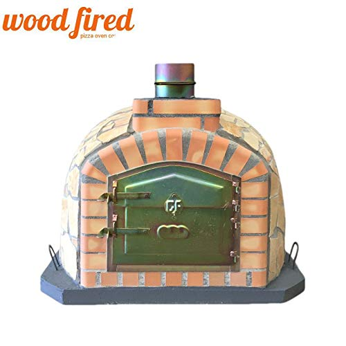 Exclusive Stone Wood Fired Pizza Oven, 100 x 100cm