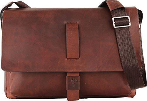 Preisvergleich Produktbild Joop! Loreto Messengerbag mit Laptopfach 16, 4 Zoll SHF Janis 702 darkbrown
