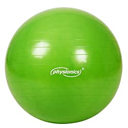 Physionics–gymb01happy Gras–Gymnastikball–grün–65cm Auswahl