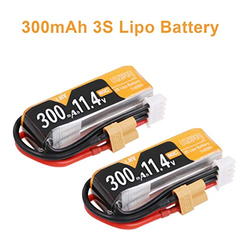 FancyWhoop 2pcs 300mAh 3S HV LiPo batería 80C / 160C