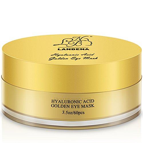 LANBENA Acido ialuronico d'oro maschera per la pelle rassodante e rughe 100g