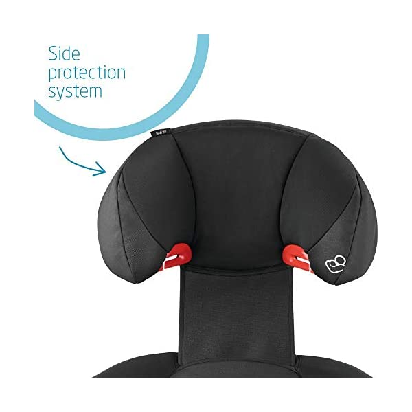 Maxi-Cosi Rodi XP2 Group 2/3 Car Seat, Night Black Maxi-Cosi Forward facing group 2/3 car seat suitable for children from 15 to 36 kg (approx. 3.5 to 12 years) Optimal side crash protection for head, lower back and hips Backrest grows along with your child in both length and width 3