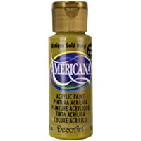Acrilico americana dipingere 2 once-Antique Gold/opaco