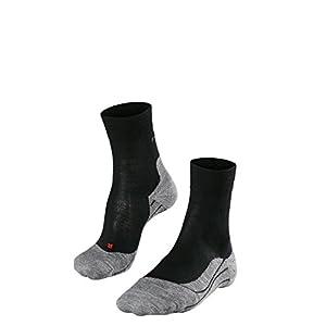 FALKE RU4 Wool Damen Runningsocken – Laufsocken mit mittelstarker Polsterung -1 Paar- Merinowoll-Mix, Größe 35-42, versch. Farben