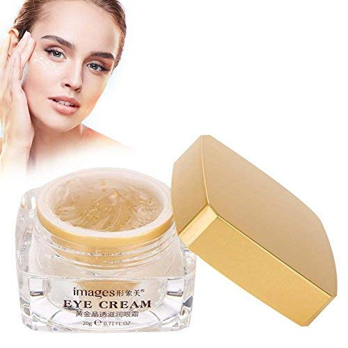 Gold Anti Aging Augencreme, Instant Firming & Long Term Reduction in Wrinkles, Bags, Puffiness, Dark Circles & Extra Fat Natural Under Eye Skin Care Day Night Essence -