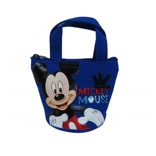 Officially Licensed Disney Mini Handbag Style Coin Purse - Mickey Mouse
