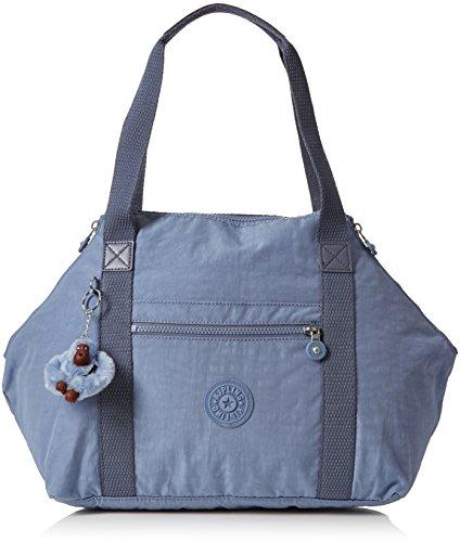 Kipling Damen Art Henkeltasche, Blau (Timid Blue C), 44x27x20 cm