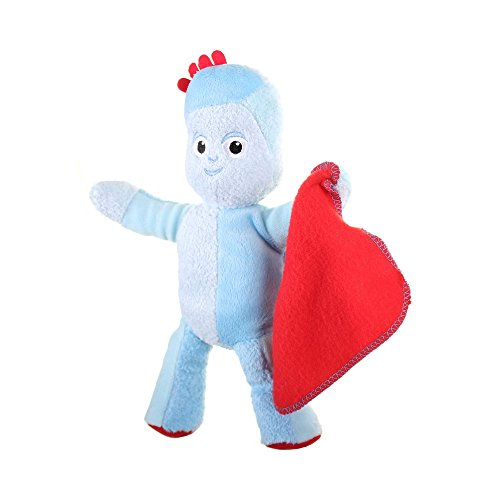 Dans The Night Garden 23cm Talking Iggle Piggle Soft Peluche Toy (anglais)