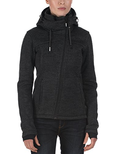 Bench Damen Strickjacke Wight, dark shadow, S, BLFF0006