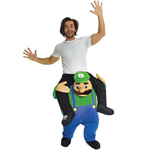 Morph Unisex a Cavalluccio Luigi Verde Idraulico Cavalluccio Costume - con Le tue stesse Cose