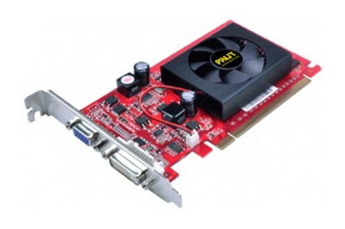 Palit Nvidia GeForce GF 210scheda video (PCI-E, 512MB DDR 2memoria,
