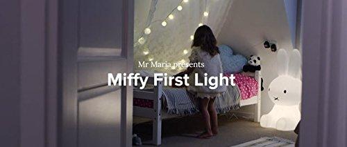 Mr Maria - Miffy First Light Lampe - 30cm Höhe - Ein kleiner Freund für Ihr kleines Wunder, Dimmbare & Aufladbare LED-Kinderlampe - Zum Mitnehmen in den Urlaub, Übernachtungen bei Freunden und Familie