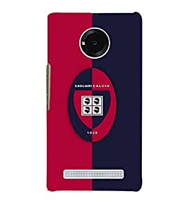 TOUCHNER (TN) Rugby Back Case Cover for MICROMAX YUPHORIA