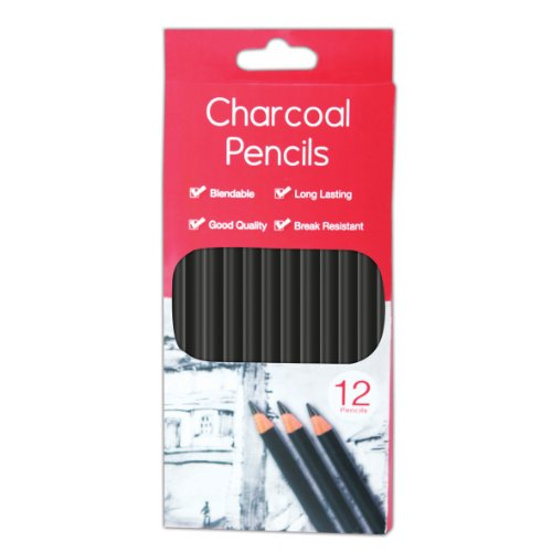 tallon-charcoal-pencils-pack-of-12