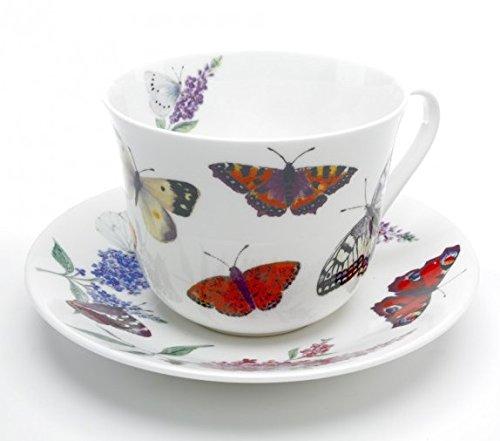 Roy Kirkham XBUTG1100 Jumbotasse Butterfly Garden (Schmetterlinge)