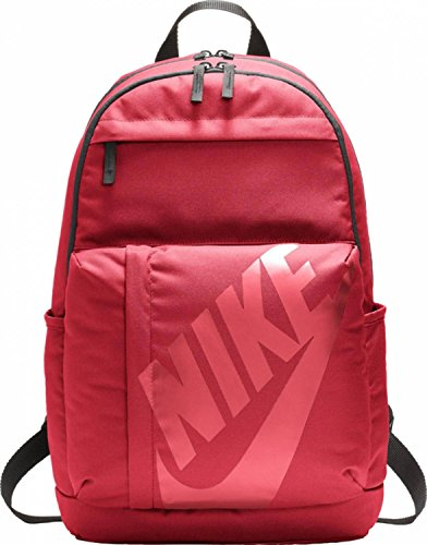 Nike Elemental Backpack Mochila, unisex, Elemental Backpack, Noble Red/Black/Bordeaux, talla única