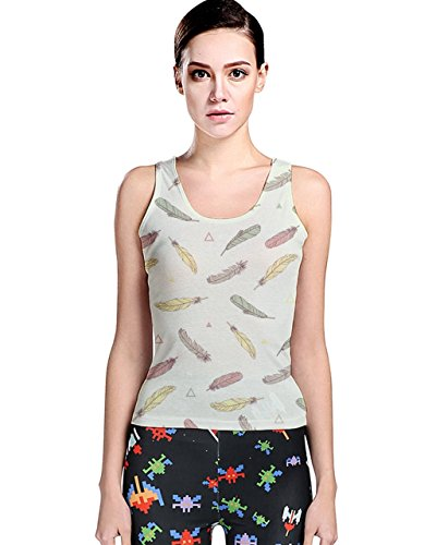 CowCow - Canotta -  donna Light Green