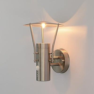 Aussenleuchte Aussenlampe Wandleuchte mit Bewegungsmelder 242A1 von Maxkomfort - Lampenhans.de