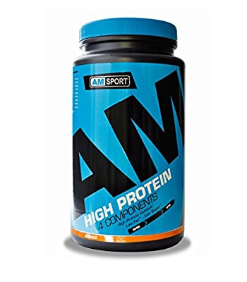 High Protein Shake - AMSport - Cookies, 600g
