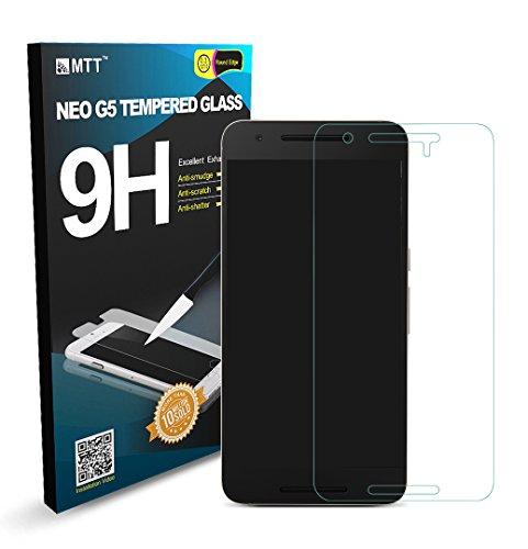 MTT Premium Tempered Glass Screen Protector for Nexus 6P (Pack...