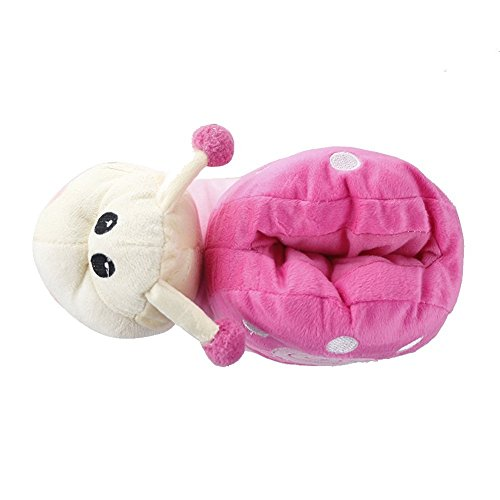 Minetom Unisex Autunno E Inverno Spesso Pantofole Peluche Cartoni Scarpe Halloween Cosplay Costume Rosa