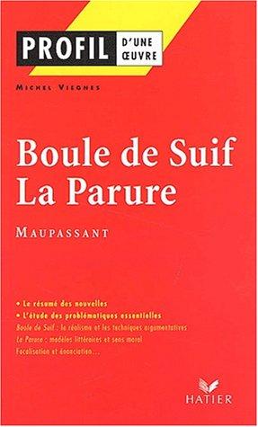 Profil d'une oeuvre : Boule de Suif - La Parure de Maupassant