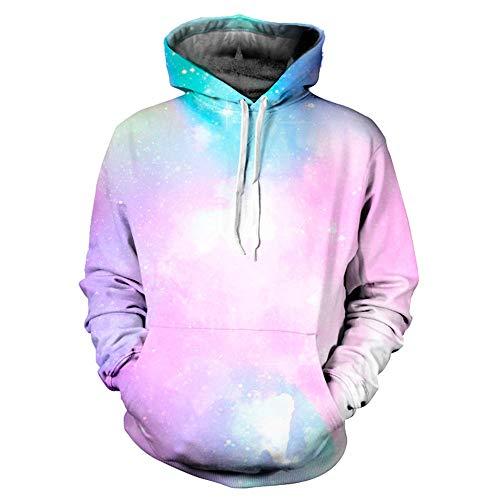 Sweatshirt Herren Damen Herbst Winter 3D Druck Langarm Kapuzenpullover Caps Pullover Top SANFASHION Tweety Fleece
