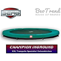 Berg Toys 35.41.57.00 Champion 330 Inground Trampolin, Grün