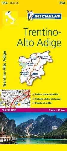 Mapa Local Italia Trentino. Alto Adige Mapas Local