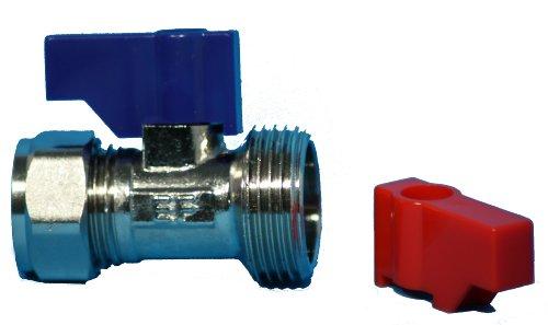 Plumb-Pak Waschmaschine/Spülmaschine Wasserhahn direkt-Verbinder 15mm x 3/10,2cm (Waschmaschine Isolation)