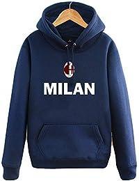 Shocly Sudadera AC Milan Football Club Round Cuello Regalo De Manga Larga  para Hombres Mujeres 0eccff9a14778