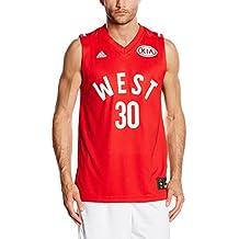 Adidas Stephen Curry All Star Game 2016WestCamiseta para hombre, camiseta, color rojo, tamaño large