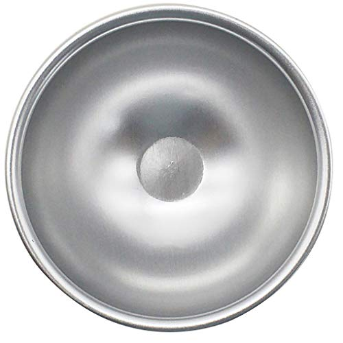 Censhaorme 3pcs Aluminiumlegierung Hemisphärische Kuchenform DIY-Halbkreis-Halbkreisförmige Jelly Pudding Backform Jelly-thermometer