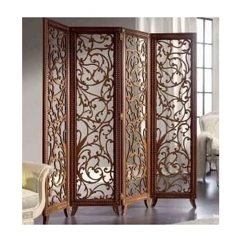 Craftatoz Wooden Partitions Wood Room Divider Partition For Living Mesmerizing Divider Living Room