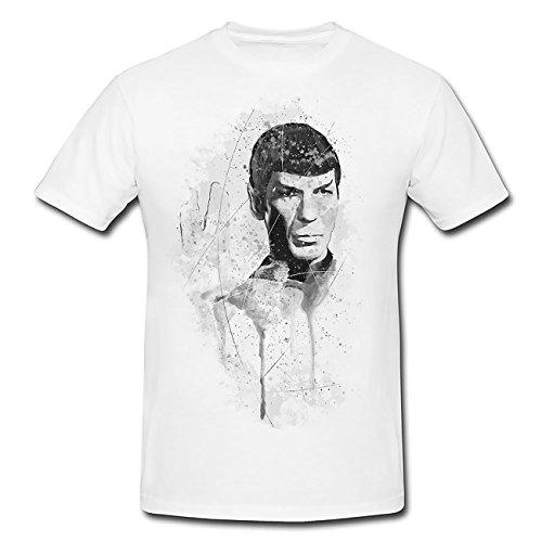 Star Trek Mr Spock T-Shirt Herren, Men mit stylischen Motiv von Paul Sinus