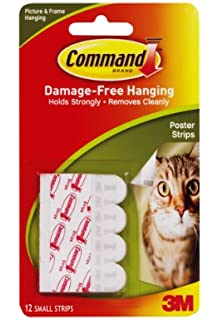 Command Medium Picture Hanging Strips (9 Packs of 3 Pairs): Amazon ...