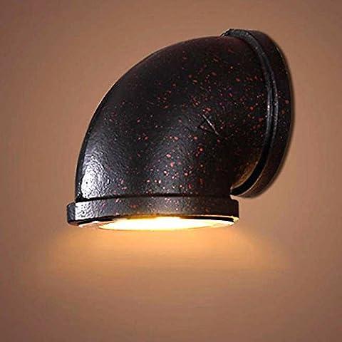 Rostige Farbe Industrie Eisen Wandlampe Elegante Kreative Retro Wandleuchte Passend