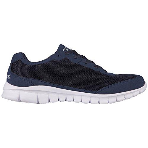 Kappa ROCKET Unisex-Erwachsene Sneakers Blau (6710 NAVY/WHITE)