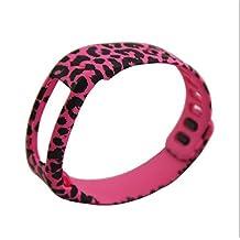 Moda nuevo estilo colorido Recambio Muñeca Banda con cierre para Garmin Vivofit inalámbrico actividad pulsera deporte pulsera Garmin Vivofit brazalete deporte banda de brazo brazalete pequeño, Small Leopard Pink