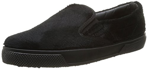 Pieces Ps Urana Shoe Pony Blk, Baskets mode femme Noir (Black)