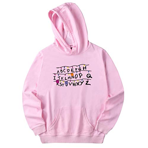 Heetey Männer Pullover Strickjacke T-Shirts Herren Winter Brief gedruckt lässig Hoodie Sweatshirt Langarm Bluse Top Pullover Basic T-Shirt Strickjacke Mantel Jacke Top - Crossover Neck Sweater