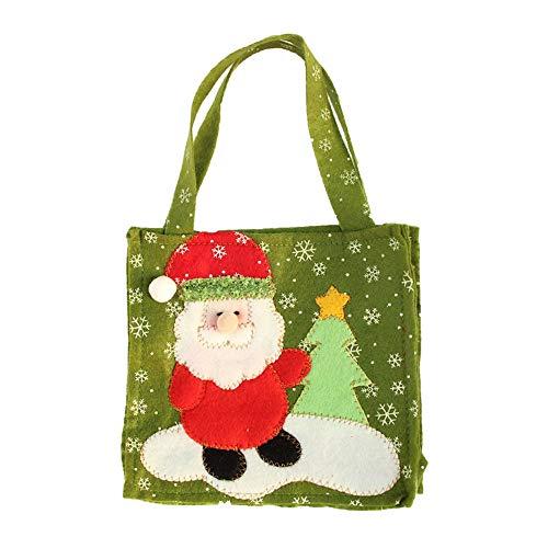 Yvelands sacchetto di caramelle regalo di natale creativo(a,taglia unica)