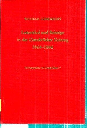 Leitartikel und Beträge in der Osnabrücker Zeitung 1864-1866