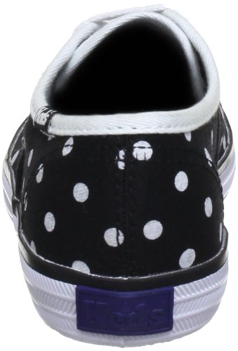 Keds kids CHAMP CVO KT31577F Unisex-Kinder Sneaker Schwarz (Black/White Polka Dots)