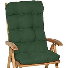 93cf4b0e526 Beautissu Flair HL - Cojín para sillas de balcón o Asiento Exterior con  Respaldo Alto -
