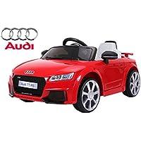 Audi TT RS, Negro, Licencia original, Batería accionada, Puertas de la abertura
