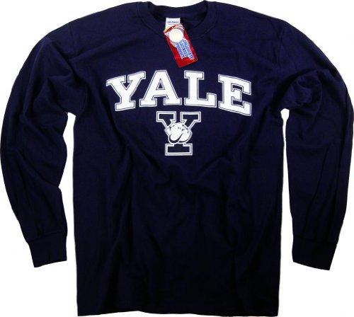 Yale-Shirt Sweatshirt Hoodie Universität Pennant Hat Bulldogs Apparel, Blau