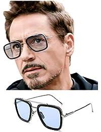 U.S CRAFT Eyewear Blueray Block UV Protected Computer Men's and Women's Glasses (Black Aviator Frame)