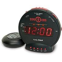 "Sonic Alert SBB500SS-VDE Réveil""Sonic Bomb"""